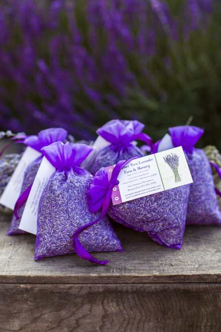 Lavender Sachets in Organza Bag