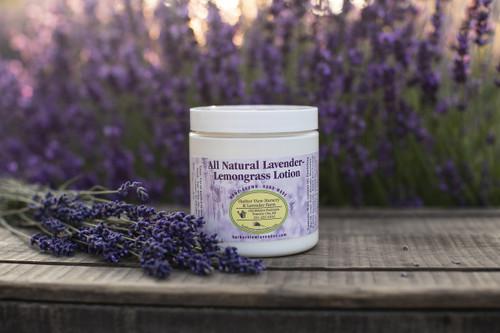 Lotion, All-Natural Lavender-Lemongrass