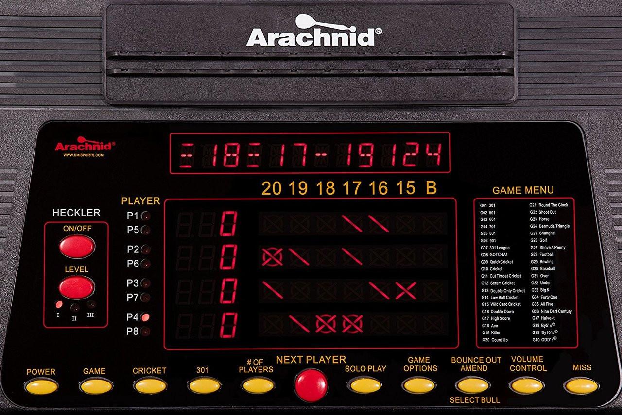 Dart Board E800fs Mh Cricket Pro 800 W Cabinet