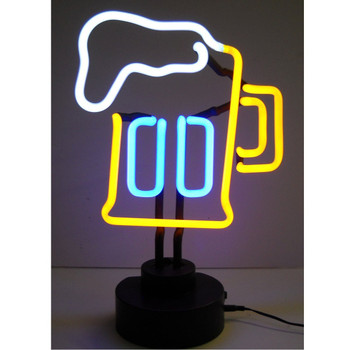 Neon Sculpture - Beer Mug