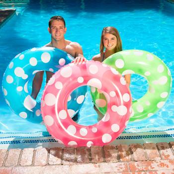 """Polka Dot Swim Tube 36"""""""