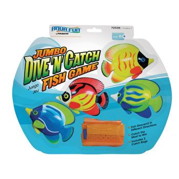 Jumbo Dive 'N' Catch Fish Game - In Box