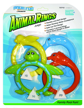 Soft Animal Dive Rings - In Box
