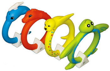 Soft Animal Dive Rings - Out of Box