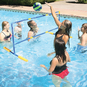Water Volleyball Game - Actual Photo