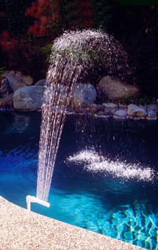 Fountain Waterfall - Actual Photo