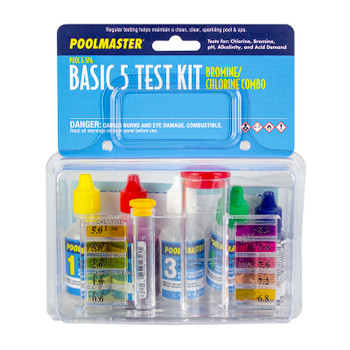 Test Kit - Basic 4: CL / PH / Acid / ALK - In Box