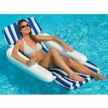 Sunchaser Padded Luxury Lounge Chair - Actual Photo