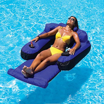Ultimate Floating Lounger - Actual Photo