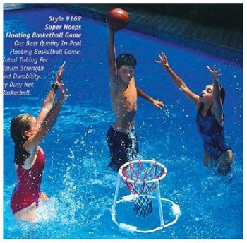 Superhoops Floating Basketball Game - Actual Photo