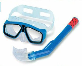 Thermotech Swim Mask + Snorkle