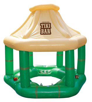 Tiki Bar Pool Float - Out of Box