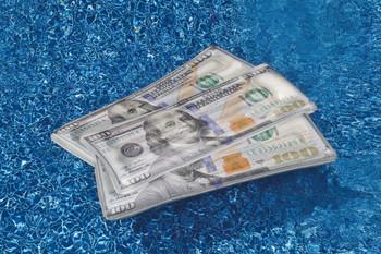 Cool Cash Float - Actual Photo