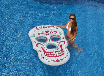 Sugar Skull Float - Actual Photo