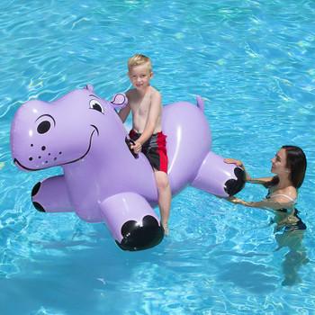 Happy Hippo Rider