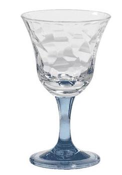 Blue Cascade 12 oz. Wine Glass