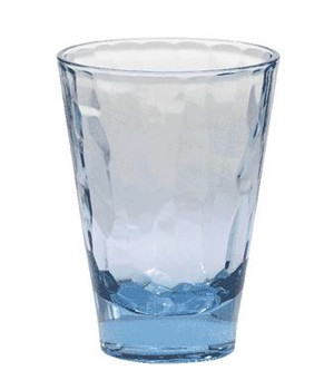Blue Cascade 14 oz. Tumbler Glass