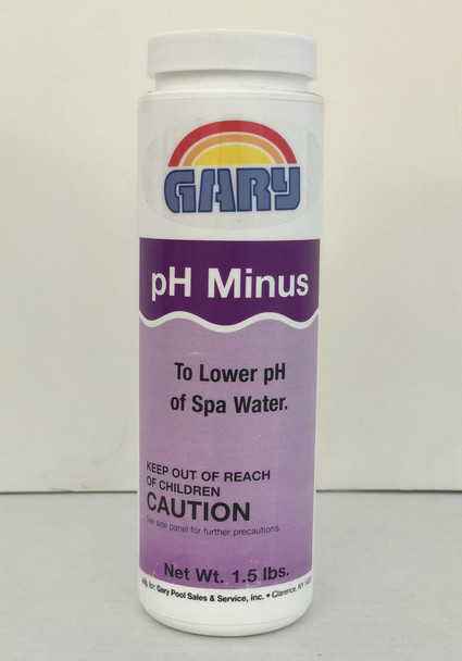 PH Decrease 1.5# - Gary's