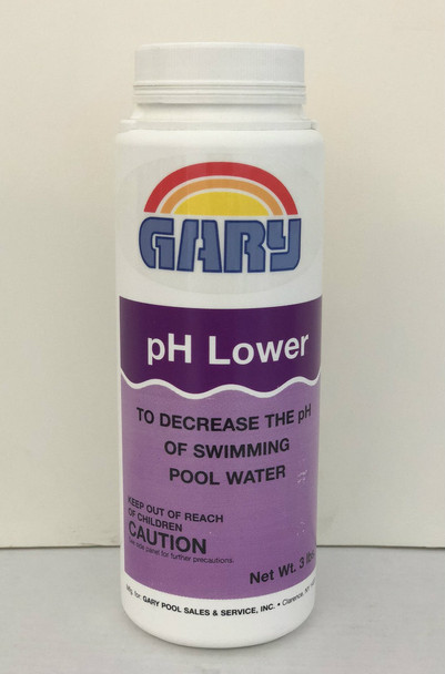 PH Decrease 3# - Gary's