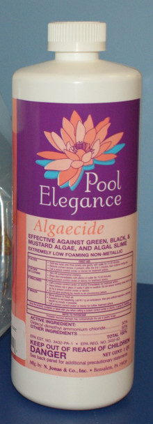 Pool Elegance Algaecide - 1 Quart