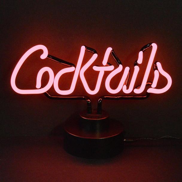 Neon Sculpture - Cocktails