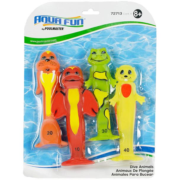 Soft Funny Dive Animals