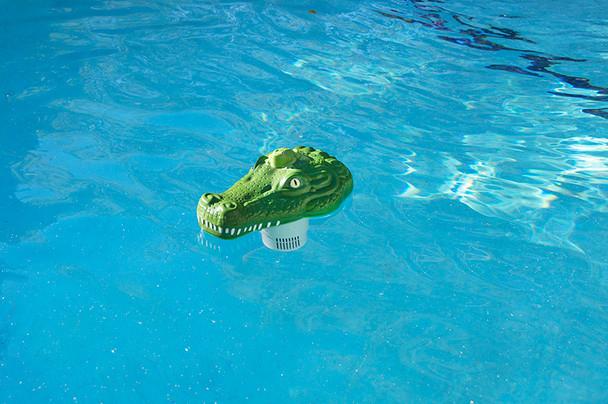 Chlorine Dispenser-Alligator Head