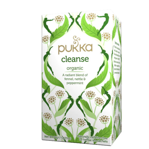 Pukka Cleanse Organic Tea (Fennel, Nettle & Peppermint) - 20 Tea bags