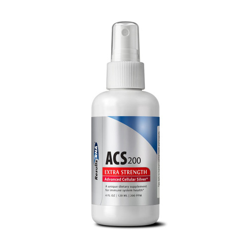 Results RNA Advanced Cellular Silver (ACS) 200 Extra Strength 120ml