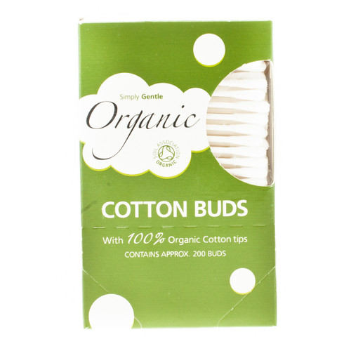 Simply Gentle Organic Cotton Buds - 200 Buds