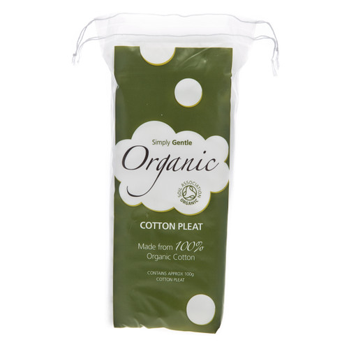 Simply Gentle Organic Cotton Wool Pleat - 100g
