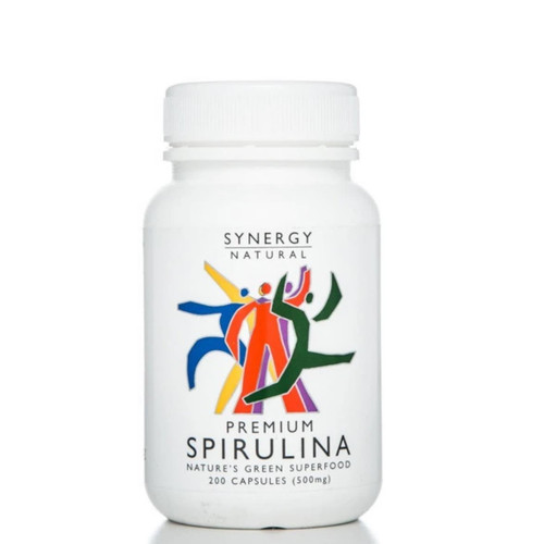 Synergy Natural Organic Spirulina - 200 tablets