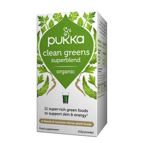Pukka Clean Greens Powder - 112g