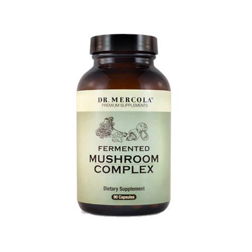 Dr Mercola Fermented Mushroom Complex - 90 capsules
