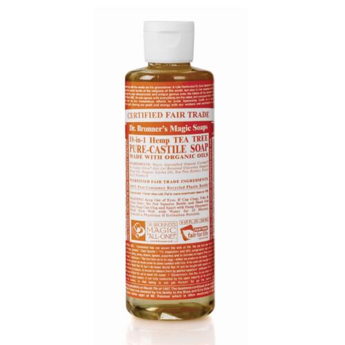 Dr Bronner's Organic Tea Tree Liquid Soap - 237ml