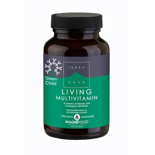 Terranova Green Child Living Multivitamin - 100 capsules