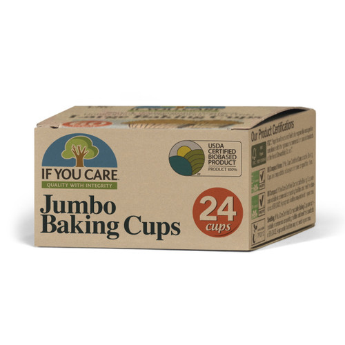 If You Care Jumbo Baking Cups - 24 cups