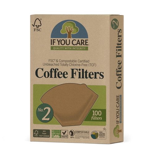 If You Care Coffee Filters No.2 Size - 100 Filters
