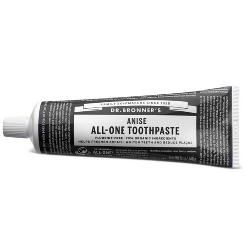 Dr Bronner's Fluoride Free Anise Toothpaste - 140g