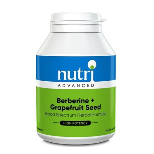 Nutri Advanced Berberine & Grapefruit Seed - 120 capsules