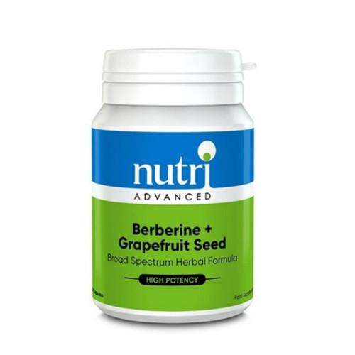 Nutri Advanced Berberine & Grapefruit Seed - 60 capsules