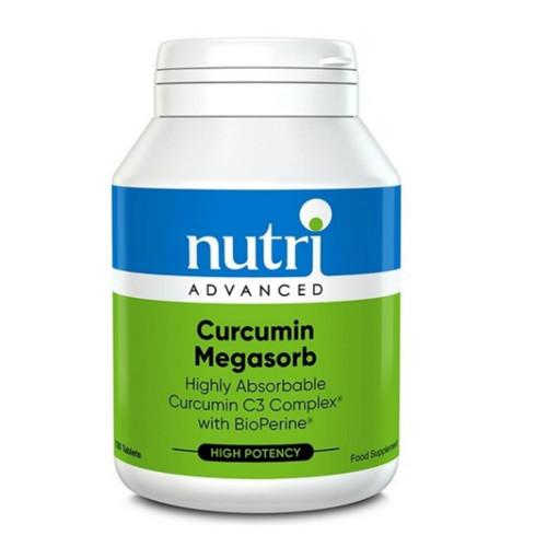 Nutri Advanced Curcumin Megasorb - 120 tablets