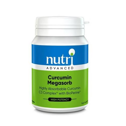 Nutri Advanced Curcumin Megasorb - 60 tablets