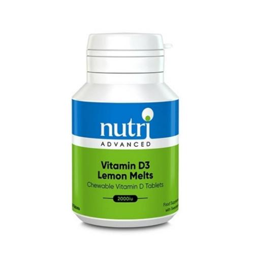 Nutri Advanced D3 Lemon Melts 2000 - 120 tablets