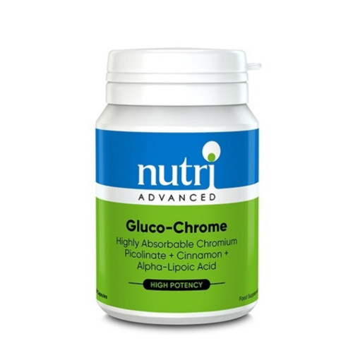 Nutri Advanced  Gluco-Chrome - 60 capsules
