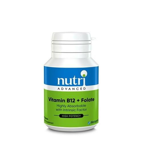 Nutri Advanced Vitamin B12 & Folate - 60 tablets
