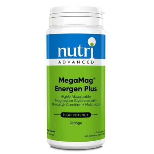 Nutri Advanced MegaMag Energen Plus (Orange) - 210g