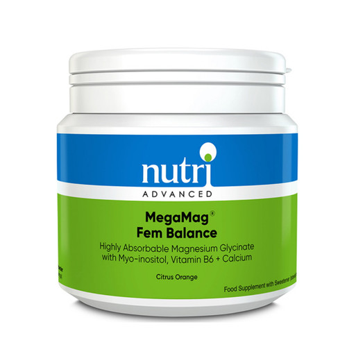 Nutri Advanced MegaMag Fem Balance (Citrus Orange) - 306g