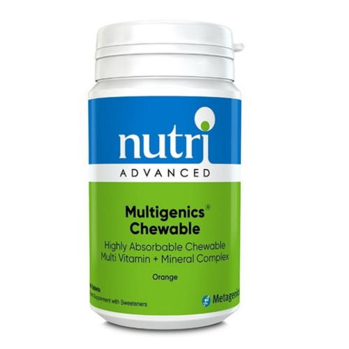 Nutri Advanced Multigenics Chewable -  90 tablets