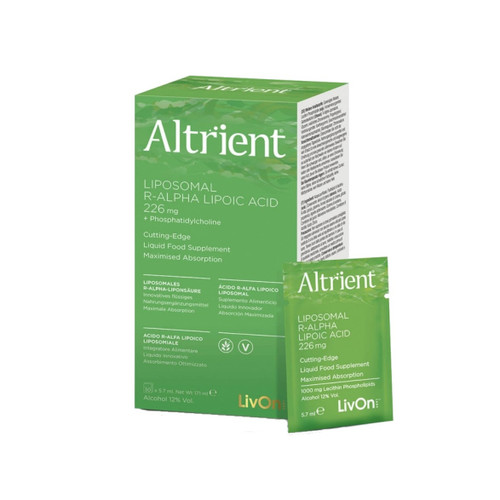 Altrient R-Alpha Lipoic Acid (R-ALA) by Livon Labs- 30 sachets